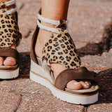 Sandalsdaily Cute Double Straps Sandals