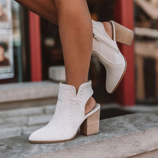 Sandalsdaily Brynn Faux Suede Boots