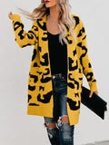 Sandalsdaily Long Fashion Print Cardigan