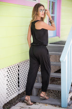 Load image into Gallery viewer, Drawstring Jumpsuit