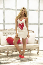 "Load image into Gallery viewer, ""Heart"" Sleep Chemise"