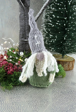 Load image into Gallery viewer, Knitted Christmas Gnome decoration