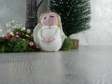 Load image into Gallery viewer, Knitted Christmas Angel decoration