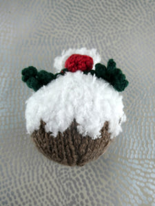 Christmas pudding tree decoration