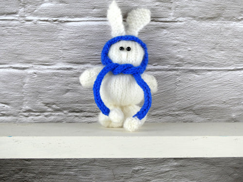 Small Teddy with a blue hat