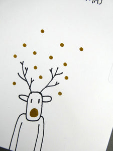 Hand drawn Christmas Card
