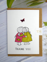 Load image into Gallery viewer, Hand drawn Greetings Card