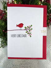 Load image into Gallery viewer, Hand drawn Christmas Card