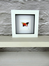 Load image into Gallery viewer, Gold and Rust framed butterfly (B1)