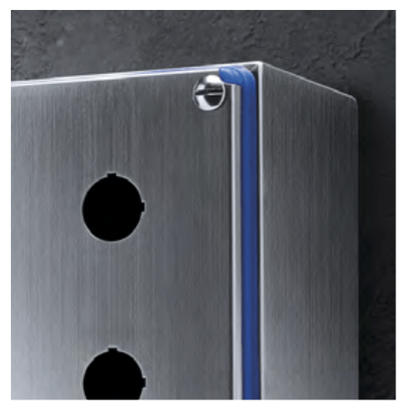 Hygienic Push Button Boxes - 2 x 2 Holes