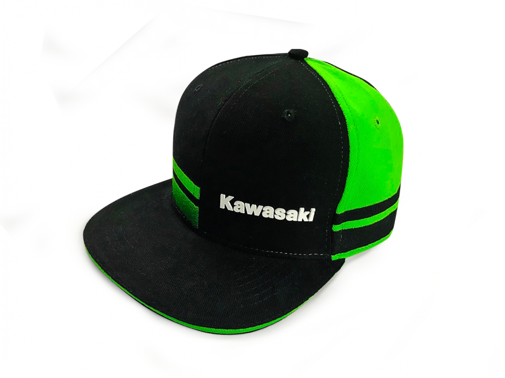 Kawasaki Power Flat Peak Cap