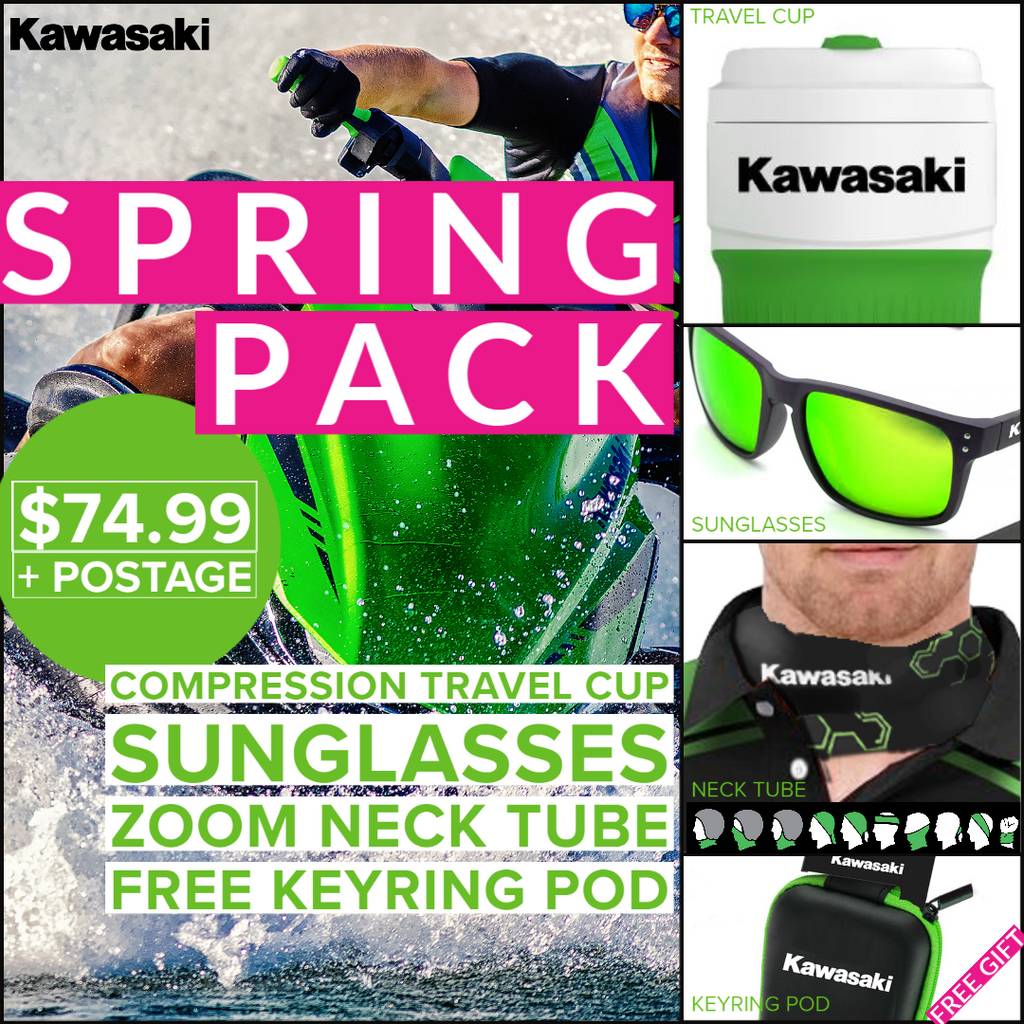 Kawasaki Spring Time Bundle