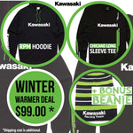 Kawasaki Winter Warmer Deal
