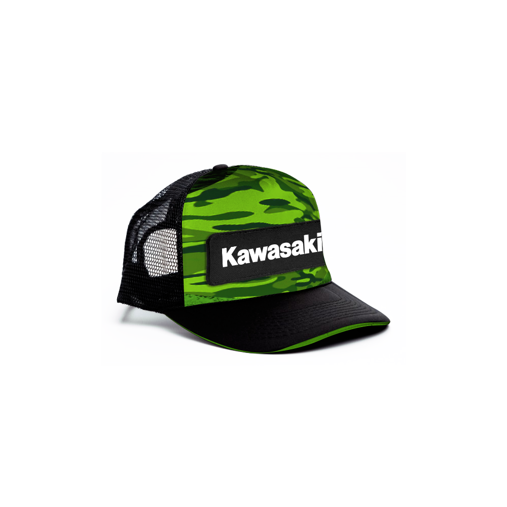 Kawasaki Camo Cap - Youth