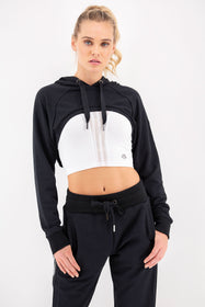 Lounge Cropped Hoodie