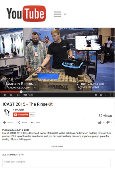 Yak Angling Interviews Chris at ICAST