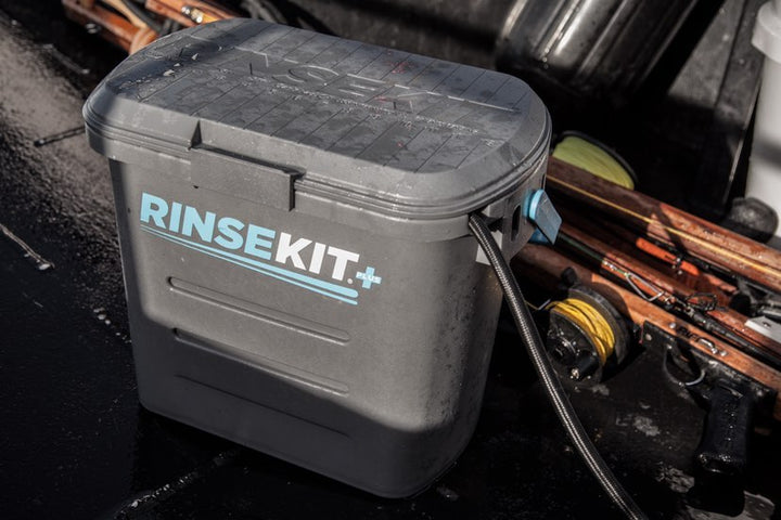 On Track Fishing Dubs RinseKit the Solution to Your Fishing Cleanliness Issues
