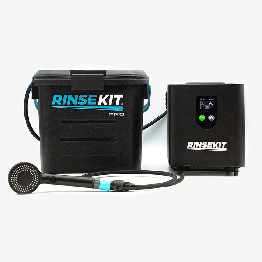 RinseKit Plus with Pressure Booster Pump & Hot Rod Water Heater