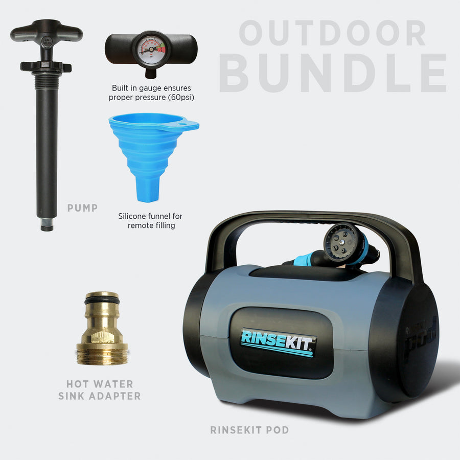 RinseKit® POD Outdoor Bundle