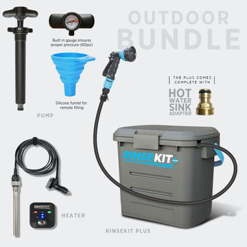 RinseKit® PLUS Outdoor Bundle