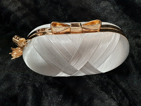 Weave-on Clutch Bag