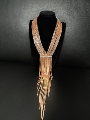 Long Y- Shaped Necklace