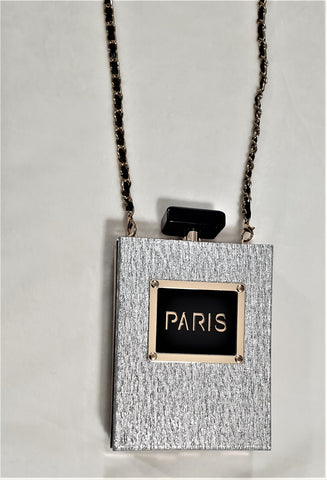 Perfume Bottle Clutch Bag