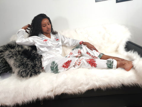 2 piece Floral Sleepwear
