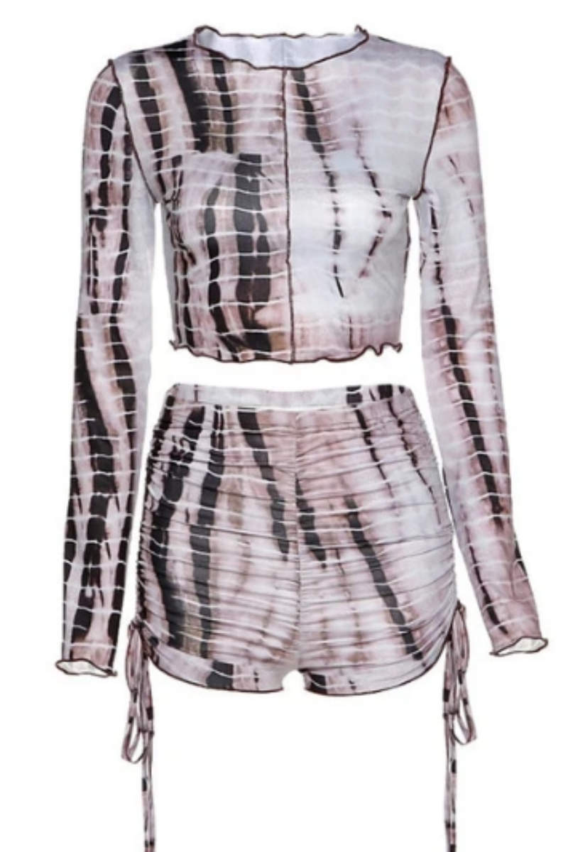 Serena Tie-Dye Two Piece Set