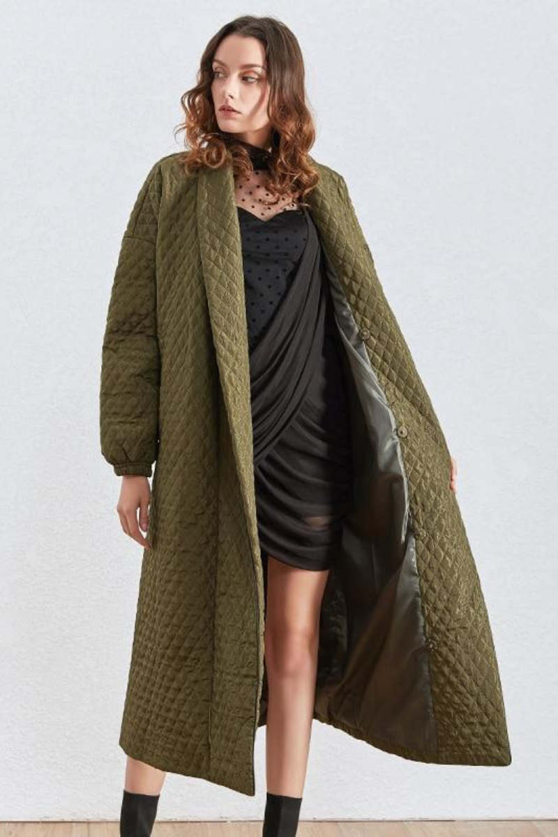 Evelyn Lantern Overcoat