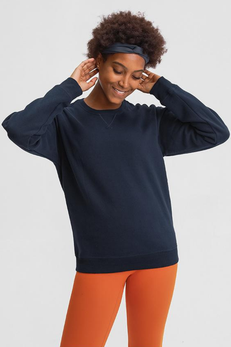 Amy Fleece Sweatshirt