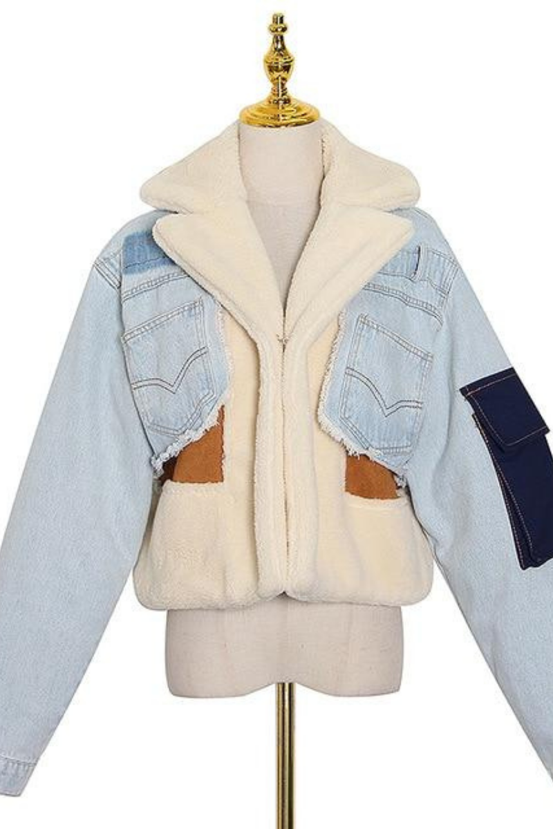 Santana Denim + Fleece Jacket