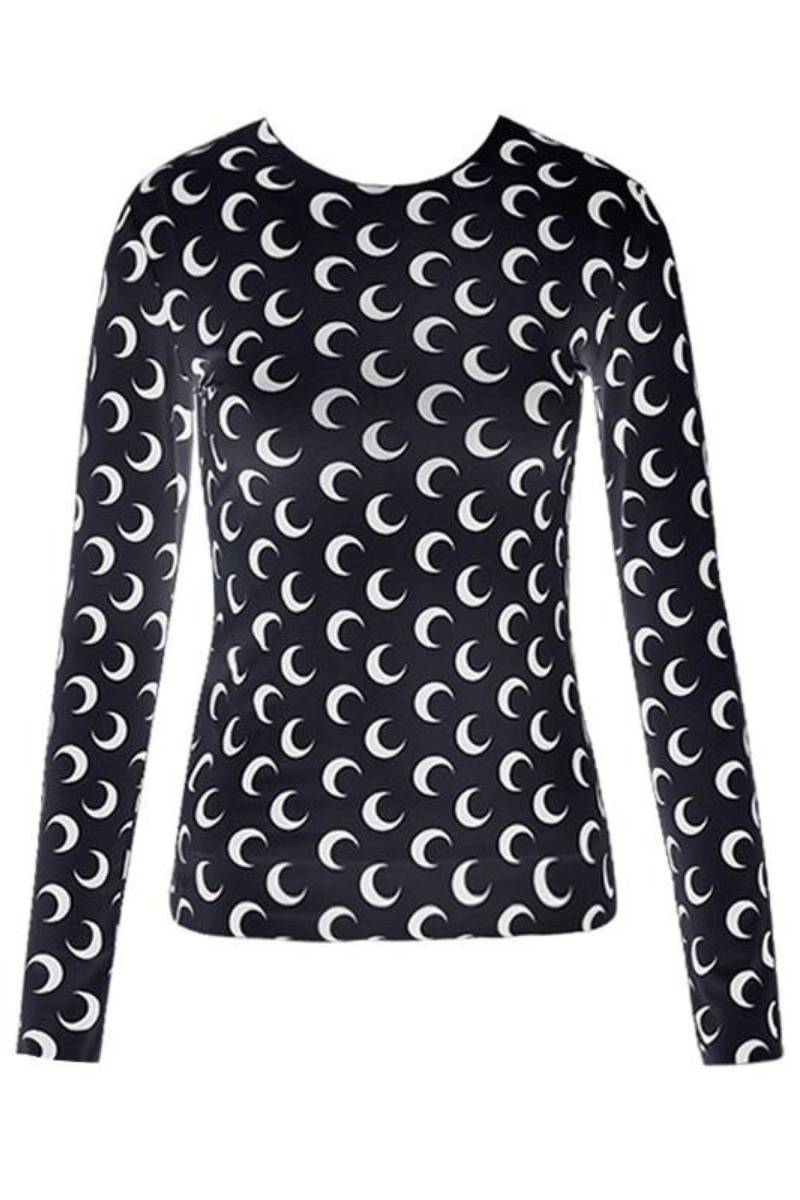 Serena Crescent Moon Top