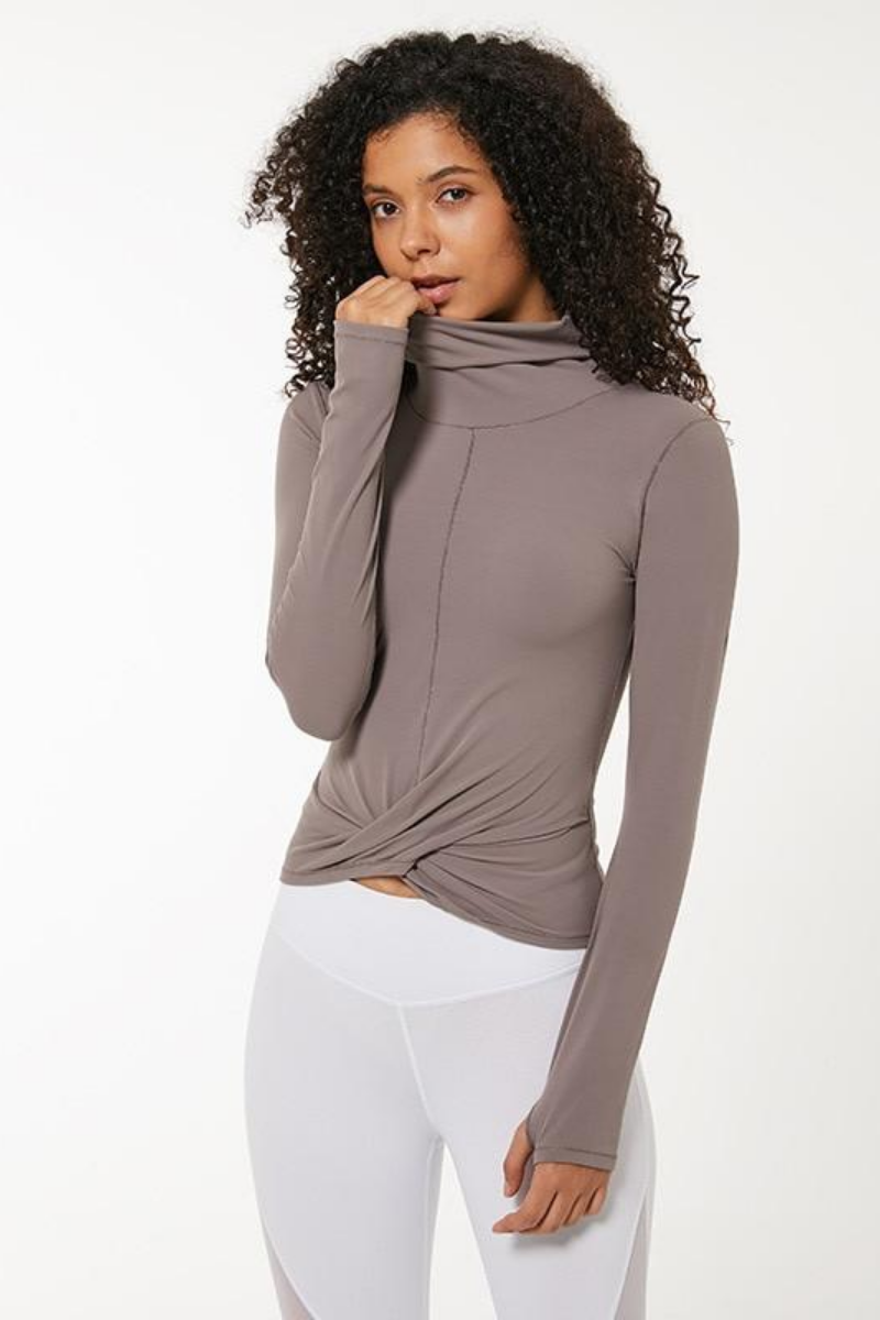 Edwina Turtleneck Top