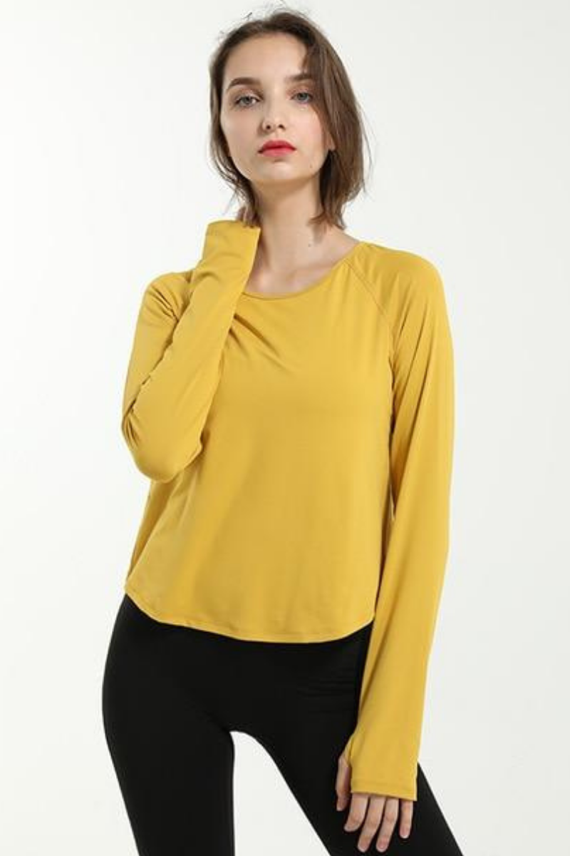 Natalie Relaxed Long Sleeve T-Shirt