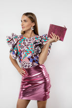 Load image into Gallery viewer, BY M.A.R.Y Accessories Metallic Pink Kanta Clutch - Metallic Pink