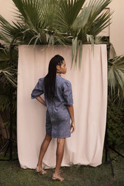 BY M.A.R.Y Denim Dress - Light Blue