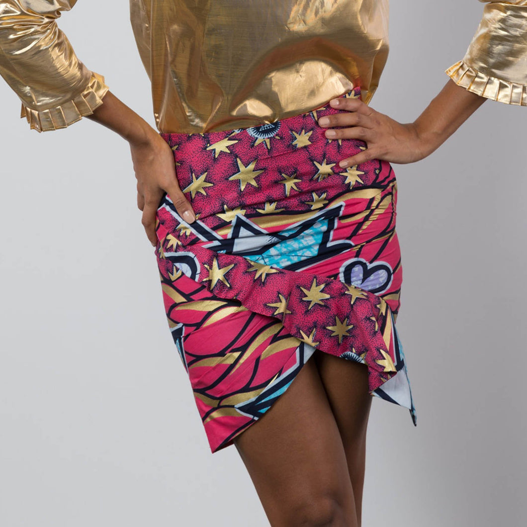 BY M.A.R.Y S Ife Skirt - Pink