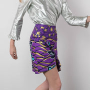 BY M.A.R.Y S Ife Skirt - Purple