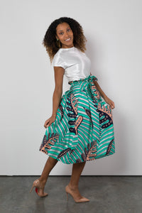 BY M.A.R.Y S Lulu Skirt - Turquoise