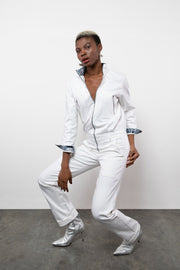 BY M.A.R.Y S/M Awa Jumpsuit - White
