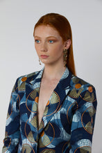 Load image into Gallery viewer, BY M.A.R.Y S/M Leena Jacket - Dark Blue/Bronze
