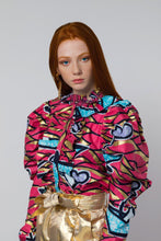 Load image into Gallery viewer, BY M.A.R.Y S/M Soukaina Blouse - Pink