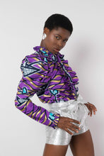 Load image into Gallery viewer, BY M.A.R.Y S/M Soukaina Blouse - Purple