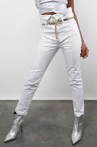 BY M.A.R.Y S Tumelo Pants - White