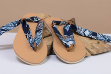 Load image into Gallery viewer, BY M.A.R.Y Shoes 37 Laced Sandal - Interchangeable ribbons