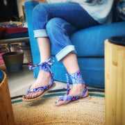 BY M.A.R.Y Shoes Laced Sandal - Interchangeable ribbons