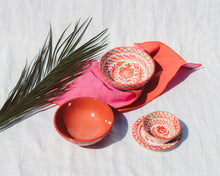 Load image into Gallery viewer, Casa Coral MINI bowl with hand painted designs