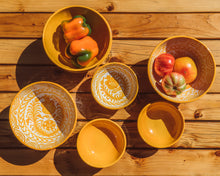 Load image into Gallery viewer, Casa Amarilla MEDIUM bowl with hand painted designs