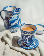 Load image into Gallery viewer, Casa Azul SMALL pitcher with hand painted designs